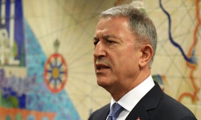 Bakan Hulusi Akar'dan Yunanistan Savunma Bakanı'na sert tepki