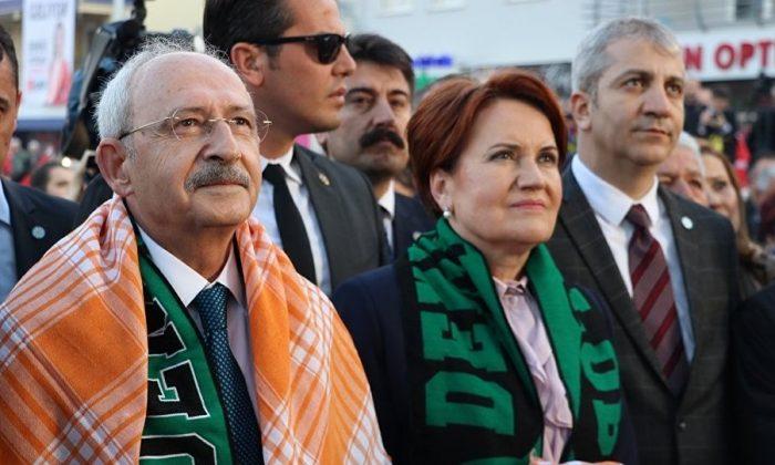 """İp'li Akşener """"Memnun"""" Chp'li Kılıçdaroğlu """"Huzur"""" istiyor Açılışta konuştular…"""