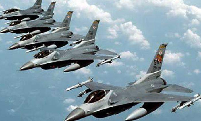 Bir ilimize duyuru geldi! Savaş uçaklarını görünce korkmayın