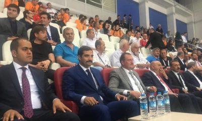 Ülkü Ocakları Başkanı Ateş, Türkiye Taekwondo Şampiyonası'nı izledi