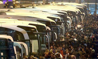 İstanbul'dan kaçış başladı, biletler tükendi