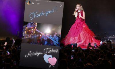 Jennifer Lopez'den Antalya paylaşımı