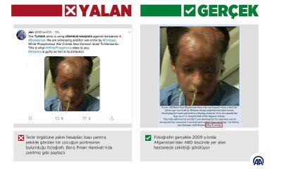 Barış Pınarı Harekatı aleyhine 'yasaklı ve kimyasal silahlar' yalanı