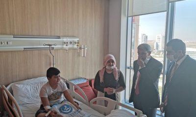 Ülkü Ocakları Genel Başkanı Sinan Ateş'ten anlamlı ziyaret