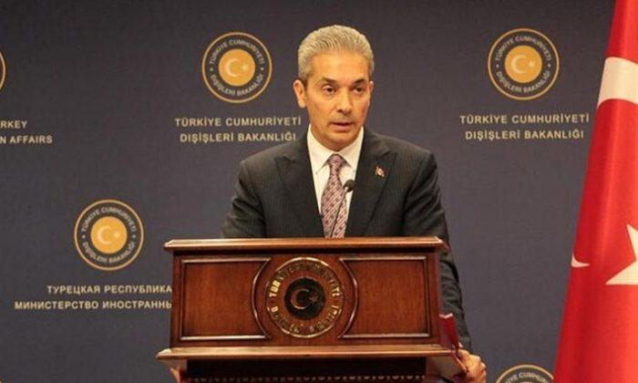 Dışişleri Bakanlığı Sözcüsü Aksoy'dan ateşkesi ihlal eden Ermenistan'a tepki