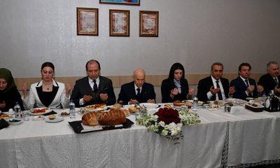 MHP Lideri Bahçeli personeliyle kahvaltıda buluştu