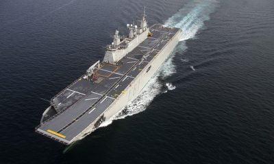 Savunma sanayisi TCG Anadolu'yu göreve hazırlıyor
