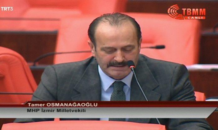 MHP'li Tamer Osmanağaoğlu: Katil sürüsü için su ısınmaktadır