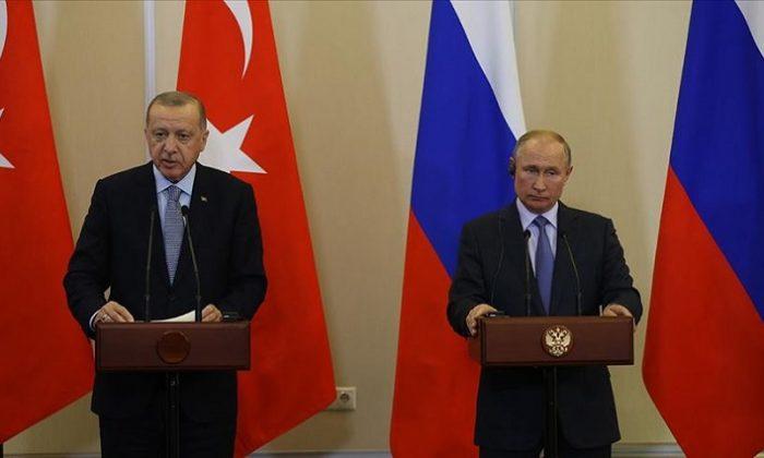 Cumhurbaşkanı Erdoğan ve Putin'den Afganistan görüşmesi
