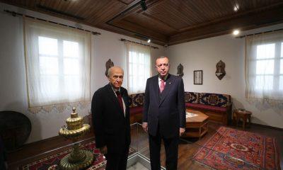 Cumhurbaşkanı Erdoğan ve MHP Lideri Bahçeli'den aylar sonra ilk kare