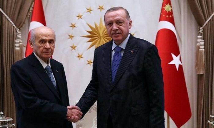 MHP Lideri Bahçeli'den Cumhurbaşkanı Erdoğan'a tebrik