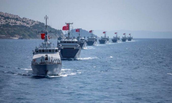 Yunan'a soğuk duş! Türkiye Doğu Akdeniz'de tüm gücü elinde topladı