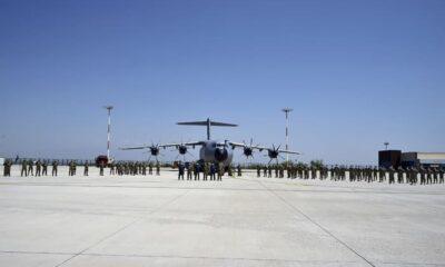 İki Kardeş ülke Türkiye ve Azerbaycan'ın ortak askeri tatbikatı sürüyor