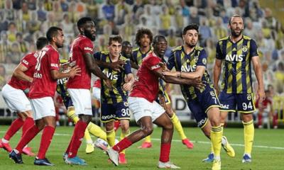 Sivasspor, Fenerbahçe karşılaştı maçta kazanan yok