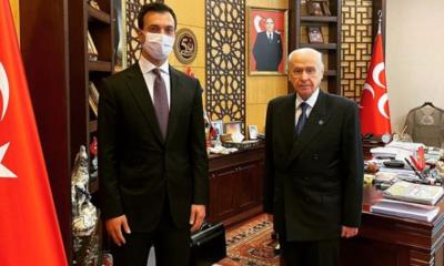 Başkurt Devlet Bahçeli Ali Çakıcı'yı Kabul etti