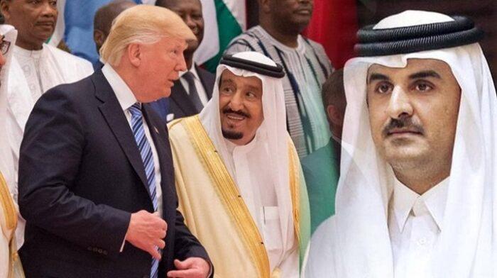 Katar'a yönelik hain plan! Suudiler önerdi, Trump reddetti
