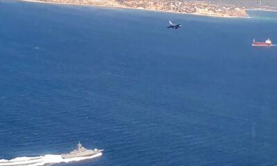 Ege Denizi'nde F16'lı eğitimler icra edildi