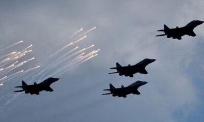 Yunan tacizine Türk F-16'ları müdahale etti