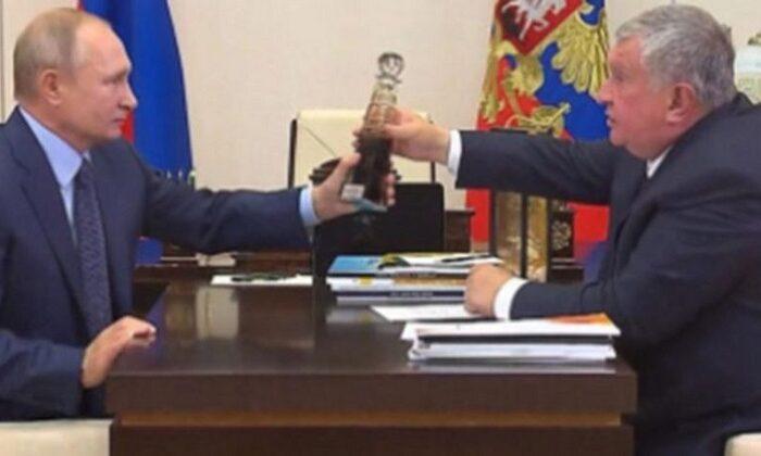 Vladimir Putin'e sürpriz 'ham petrol' hediyesi