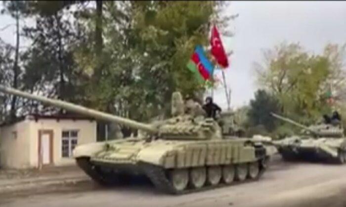 Türk askeri Ermenistan işgalinden kurtarılan bölgede