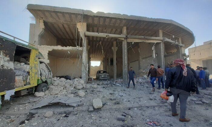 Suriye'nin kuzeyindeki El Bab'da bombalı terör saldırısı
