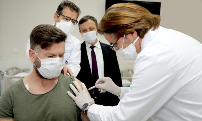 Yerli ve milli aşı adayının ikinci dozu yapıldı