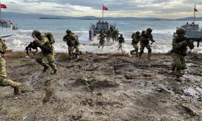 MSB: Harekâta Hazırlık Eğitimleri, İzmir Körfezi'nde icra edildi