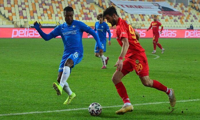 BB Erzurumspor'un galibiyet hasreti Yeni Malatyaspor karşısında dindi