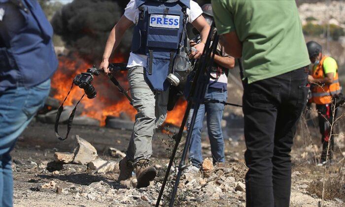 İsrail güçleri Batı Şeria'da AA foto muhabirini yaraladı