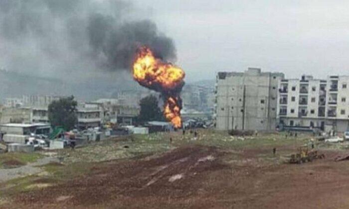 Teröristler Afrin'de sivillere saldırdı
