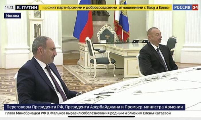 Vladimir Putin Moskova'daki Karabağ zirvesinin ardından Erdoğan'ı bilgilendirdi