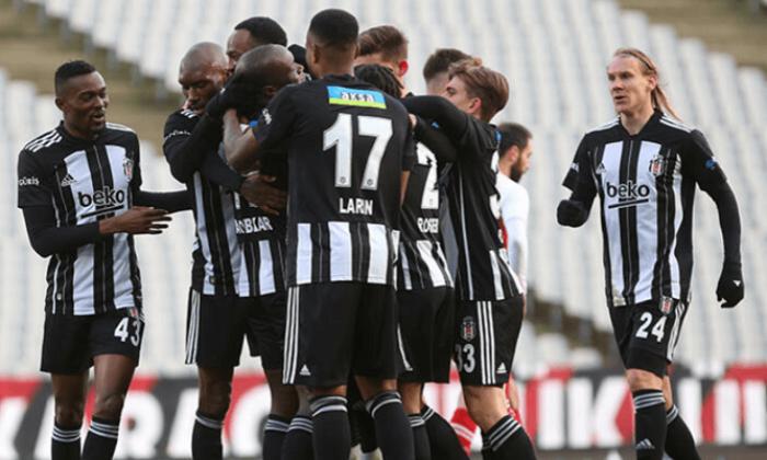 Beşiktaş ilk yarıyı lider kapattı! Geriye düştüğü maçta galip geldi…