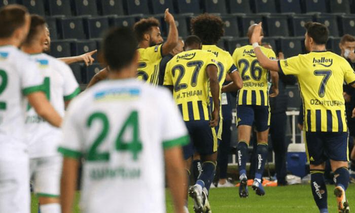 Fenerbahçe Alanya spor'la galibiyette 3 de 3 yaptı