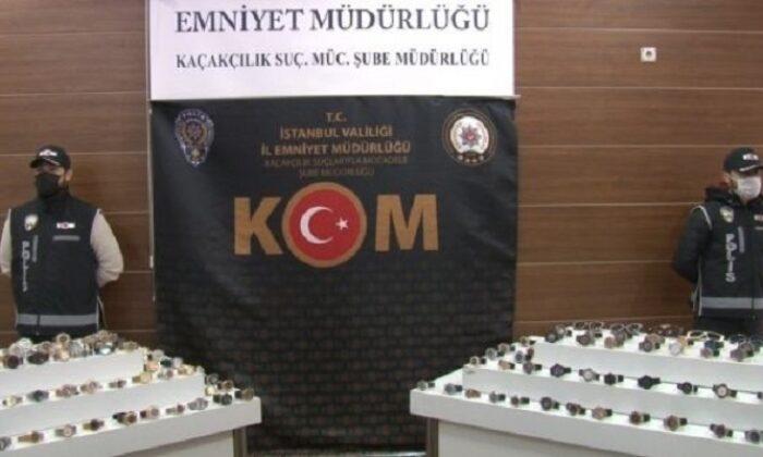 Kapalıçarşı'da polis baskını: 3 milyon liralık kaçak eşya ele geçirildi
