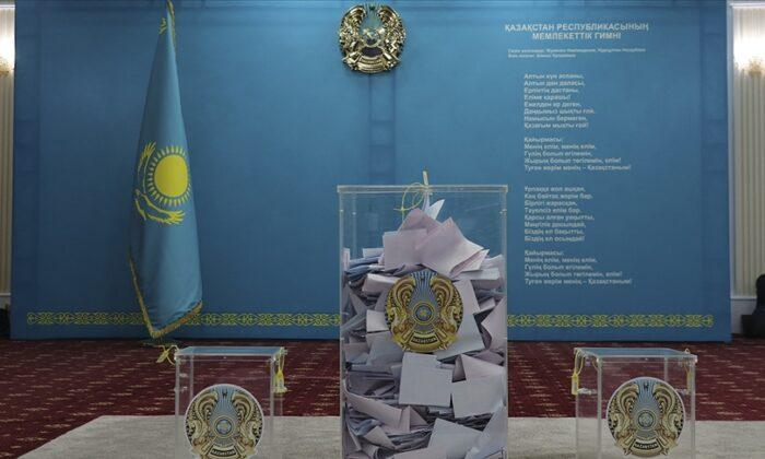 Kazakistan'da seçime ilişkin sandık başı anketlerinin sonuçları açıklandı.