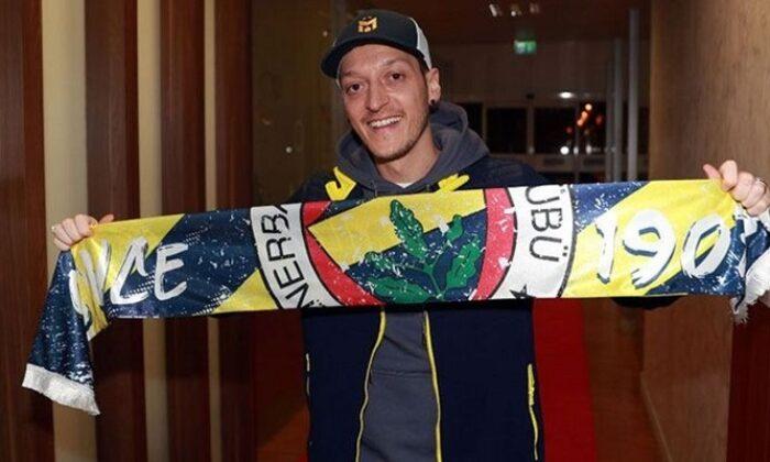Fenerbahçe Mesut Özil'i KAP'a bildirdi