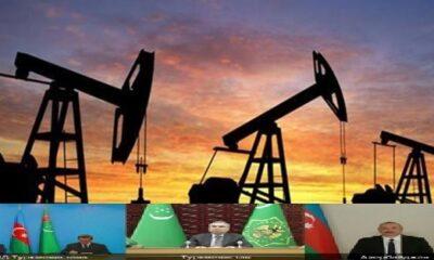 Azerbaycan ile Türkmenistan 60 milyon ton petrol rezervi için anlaştı