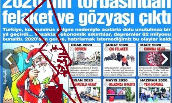 MHP'den Sözcüye tepki: Haçlının Sözcüsü