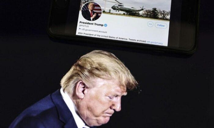 Twitter'a Trump şoku yüzde 12'ye kadar değer kaybetti