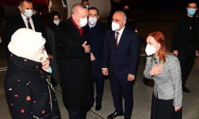 Cumhurbaşkanı Erdoğan memleketi Rize'nin Güneysu ilçesine geldi