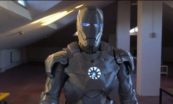 1.5 yılda tamamlandı! İşte Kağıthaneli Iron Man