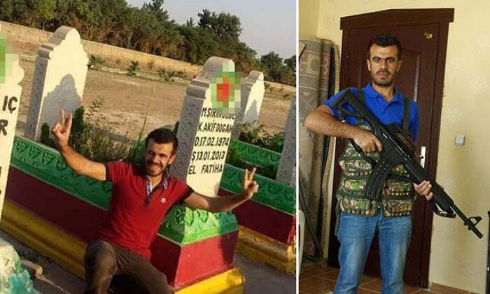 Tokkal ailesinin katil zanlısı Boğa'nın, PKK'lı teröristlerin mezarlığında fotoğrafı çıktı
