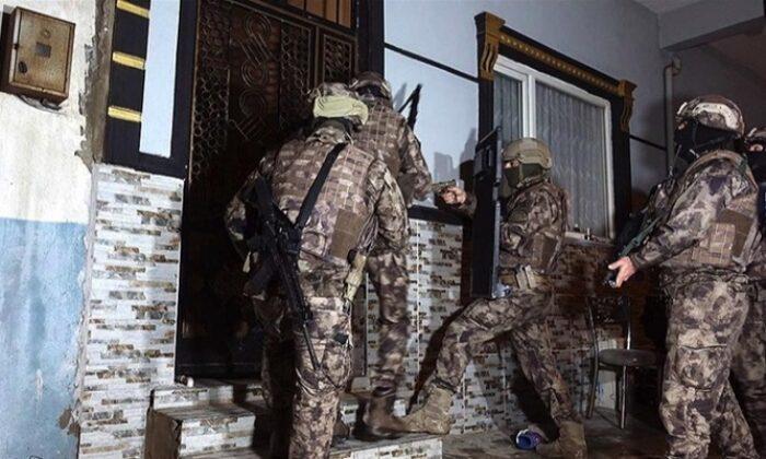 Bursa'da 600 polisin katıldığı uyuşturucu operasyonu