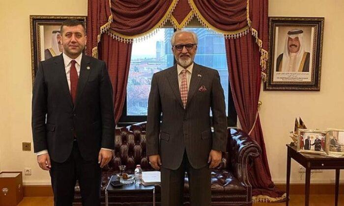 MHP'li Baki Ersoy'dan Kuveyt Ankara Büyükelçisine ziyaret