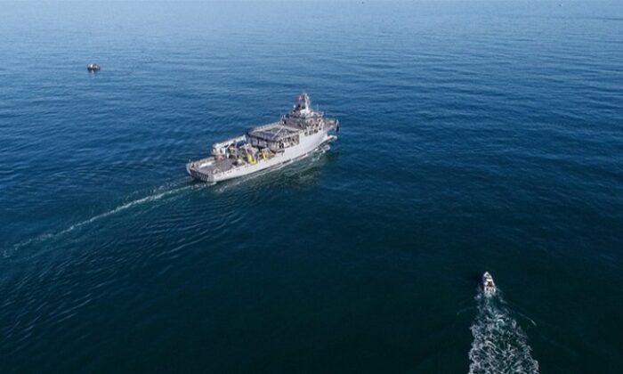 Ege'de Yunan jetleri TCG Çeşme gemisini taciz etti