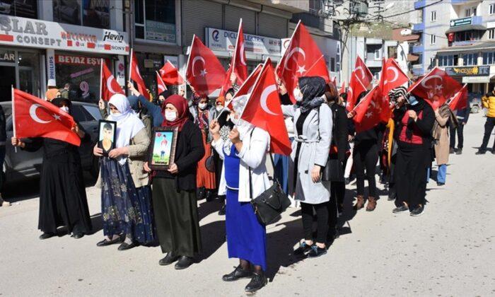 HDP İl Başkanlığı önünde eylem yaptı