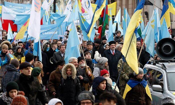 Rusya'nın Kırım'ı yasa dışı ilhakının 7. yılı