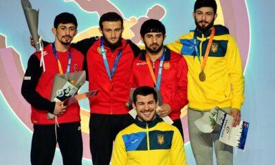 Milli güreşçiler Ukrayna'dan 4 madalya ile dönüyor