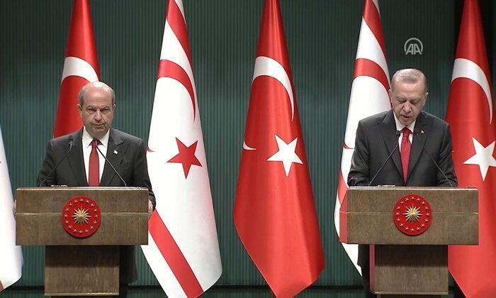 KKTC Cumhurbaşkanı Tatar: Bir avuç azınlık utanç içinde kalacaktır