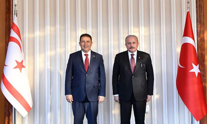 Şentop: İki devletli çözüm vizyonunu destekliyoruz